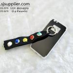 เคส iPhone 7 Plus เงามีสาย สีดำ