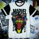 มาร์เวล สีขาว (Marvel face white)