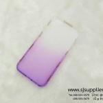 เคส iPhone5/5s/SE เพชรข้าง TPU สีม่วง