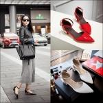 Preorder รองเท้าแฟชั่น สไตล์ เกาหลี 34-43 รหัส 9DA-8074