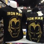 ไอรอนแมน สีดำ (Ironman golden face black)
