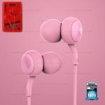 รับประกันสินค้า 1 ปี โดย Remax (Thailand) หูฟัง Remax 510 สีชมพู