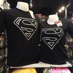 ซุปเปอร์แมน สีดำ (Superman black logo silver)
