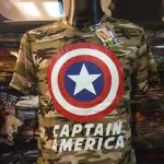 กัปตันอเมริกาลายทหาร (Captain soldier)