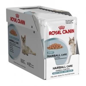 อาหารแมวแบบเปียก Royal Canin Hairball Care สามโหล1180รวมส่ง