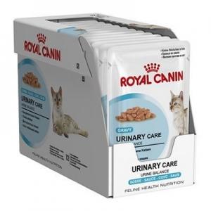อาหารแมวแบบเปียก Royal Canin Urinary Care สามโหล1180รวมส่ง