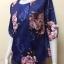 เสื้อคอกลมผ้าเมสัน By PISTA สีน้ำเงิน Size 42 thumbnail 4