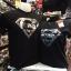 ซุปเปอร์แมน สีดำ (Superman silver logo comic CODE:0683) thumbnail 1