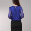 รหัส B71 เสื้อผ้าชีฟองแขนโปร่งคอวี ประดับบริเวณอกด้วยคริสตัลลวดลายสวยเก๋ thumbnail 7