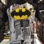 แบทแมน สีขาว (Batman logo city arm black (สามส่วน)) thumbnail 1