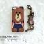 เคส iPhone 6/6s Plus หมีบราวน์มีสาย thumbnail 1
