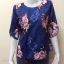 เสื้อคอกลมผ้าเมสัน By PISTA สีน้ำเงิน Size 42 thumbnail 1