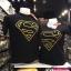 ซุปเปอร์แมน สีดำ (Superman black logo GOLD) thumbnail 1