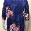 เสื้อคอกลมผ้าเมสัน By PISTA สีน้ำเงิน Size 42 thumbnail 5