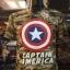 กัปตันอเมริกาลายทหาร (Captain soldier) thumbnail 1