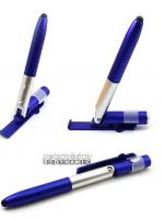 ปากกาสไตลัสอเนกประสงค์ 4 in 1 สุดคุ้ม 4 ฟังก์ชั่น ครบจบในด้ามเดียว สีน้ำเงินเข้ม