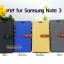 เคส Samsung Galaxy Note 3 ลายยีนส์ ฝาปิด ตั้งแนวนอนได้ สีเหลือง thumbnail 6