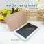 เคสหนัง Samsung note 8 Smart cover (Onjess) สี Rose gold thumbnail 4