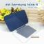 เคสหนัง Samsung note 8 Smart cover (Onjess) สีน้ำเงิน thumbnail 6