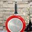 กระทะเคลือบ NONSTICK FRY PAN ขนาด 26 cm สีแดง thumbnail 1