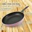 กระทะเคลือบ NONSTICK FRY PAN รุ่น induction ขนาด 26 cm สีชมพู thumbnail 2