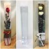 กล่อง-ใส่ดอกไม้ ขนาด 2.5 x 2.5 x 12 นิ้ว หรือ ขนาด 6.4 x 6.4 x 30.5 cm