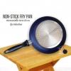 Clearance Sales กระทะเคลือบ NONSTICK FRY PAN รุ่น induction ขนาด 26 cm สีน้ำเงินเข้ม