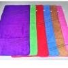 ขายส่ง ผ้าเช็ดตัวนาโน สีพื้น (แบบหนา-สีเข้ม) 70*140 cm ส่ง 49 บาท