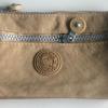 กระเป๋าคล้องมือ ผ้าเนื้อ Kipling สีกากี