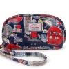 กระเป๋าสตางค์ Chalita wu สีกรม ลายลอนดอน