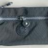 กระเป๋าคล้องมือ ผ้าเนื้อ Kipling สีดำเทา