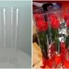 กล่องกลม-ดอกไม้วาเลนไทน์ ขนาด 3 นิ้ว x สูง 20 นิ้ว