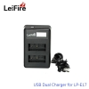 Battery Charger LeiFire Dual USB For Canon LP-E17