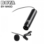 Microphone BOYA BY-M40D Omni-directional Lavalier for XLR