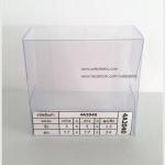 กล่องสบู่-ทรงจตุรัส ขนาด 7.7 x 7.7 x 3.4 cm