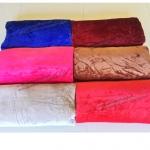 ขายส่ง ผ้าห่มนาโน 6 ฟุต แบบหนา สีพื้น-ผ้าเงา ส่ง 145 บาท
