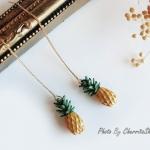 ต่างหู Mini Pineapple Korea ER7471
