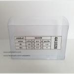 กล่องสบู่-ทรงผืนผ้า ขนาด 7.1 x 9.7 x 4 cm