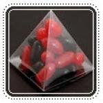 กล่องพลาสติกใส-สามเหลี่ยม