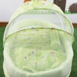 ชุดที่นอนมุ้งขนาดใหญ่(ถอดแยกซักได้) สีเขียว