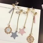 เลือกสีด้านในค่ะ ต่างหู Fairy Tale Clock Korea ER9968
