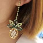 ต่างหู Jewel Pineapple Korea ER2136