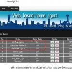 Web Based Home Agent for Smart Living