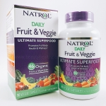 Natrol, Daily Fruit & Veggie, Ultimate Superfood, 90 Veggie Caps