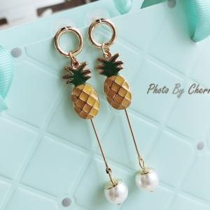 ต่างหู Simple Pineapple Korea V1 ER4712-1