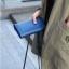 กระเป๋าจัดเก็บพาสปอร์ตสไตส์เกาหลีสีน้ำเงิน thumbnail 4