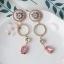 ต่างหู Flower Diamond Ring Korea ER3121 thumbnail 4