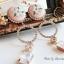 ต่างหู Flower Diamond Ring Korea ER3121 thumbnail 17