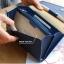 กระเป๋าจัดเก็บพาสปอร์ตสไตส์เกาหลีสีน้ำเงิน thumbnail 5