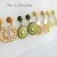 เลือกลายด้านในค่ะ ต่างหู Summer Fruit Harajuku Style ER9102 thumbnail 7